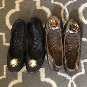 2 pairs Lindsay Phillips ballet flats shoes